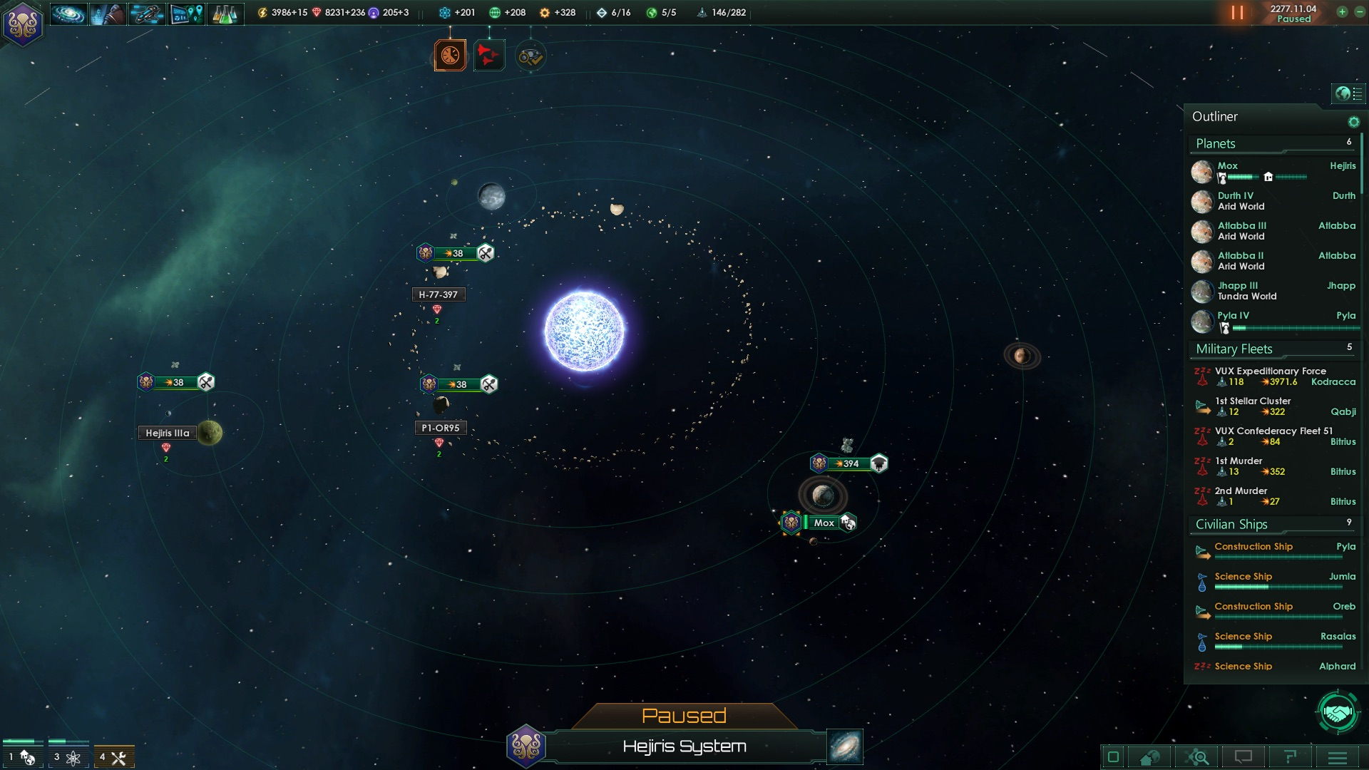 Planetary map